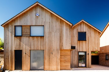 Siberian Larch Timber Cladding Cambridge