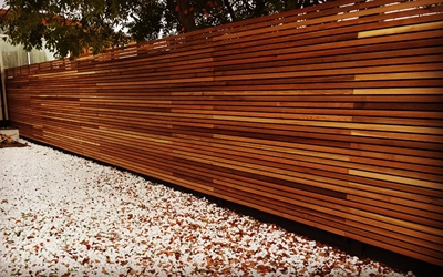 WESTERN RED CEDAR Cedar Fencing Screens