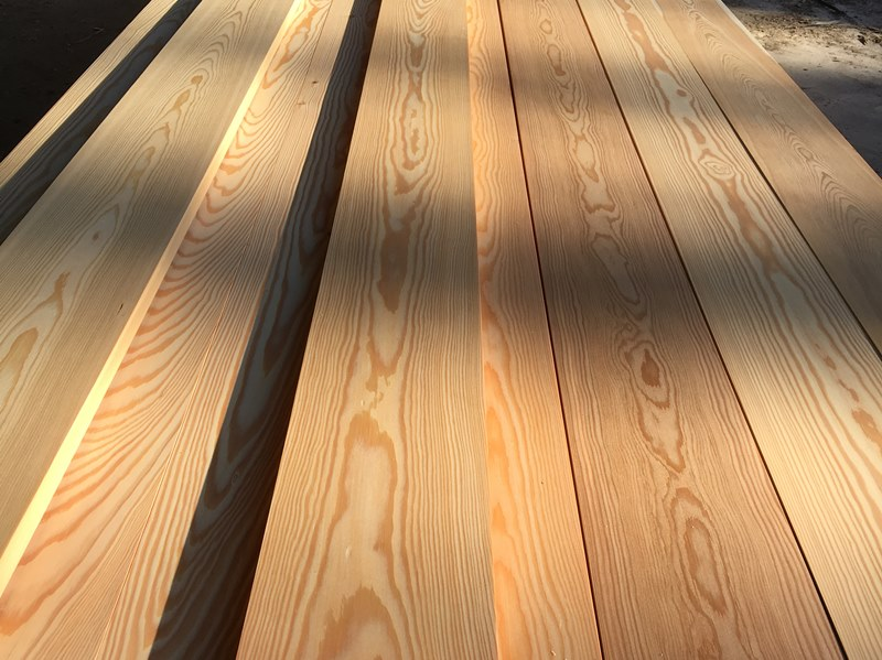 Siberian Larch Timber Boards PAR