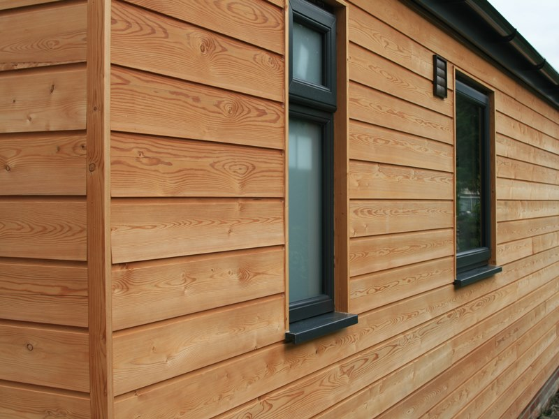 Siberian Larch Cladding Millworks