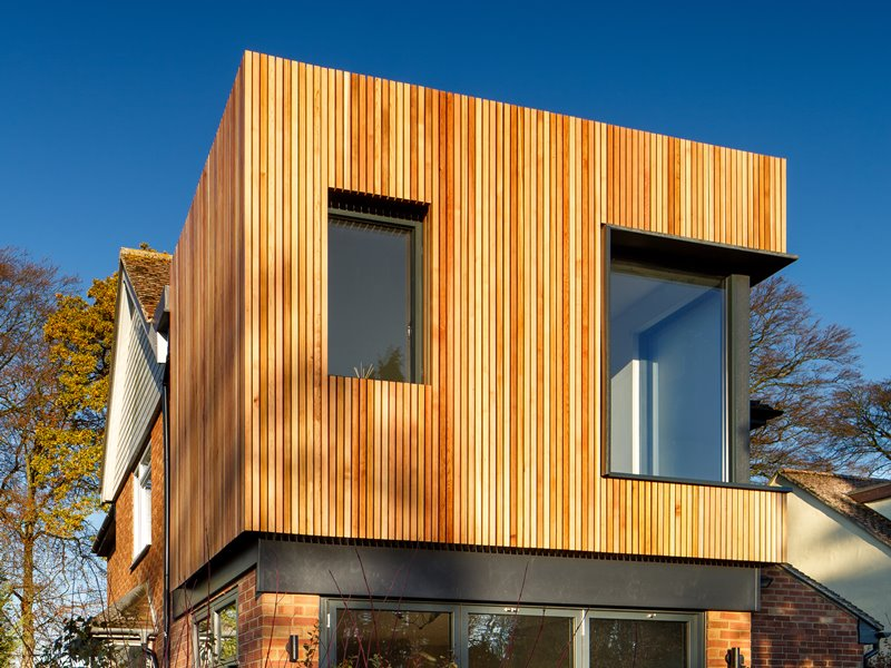 Cedar Cladding Battens Cambridge Extension Millworks