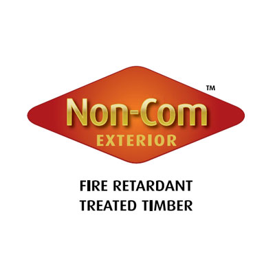 Non-Com exterior fire protection