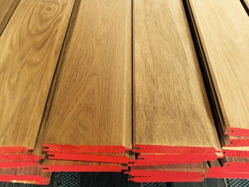 Oak Cladding