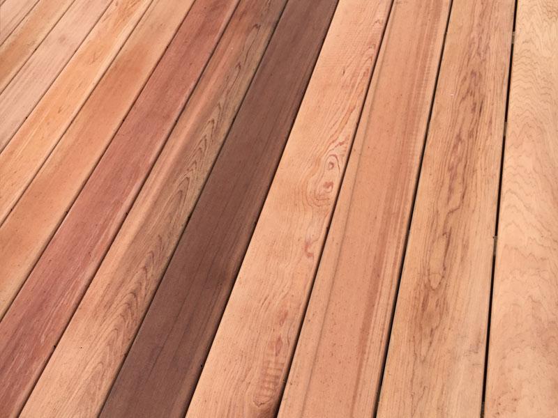 Western Red Cedar ~ Western red cedar decking millworks