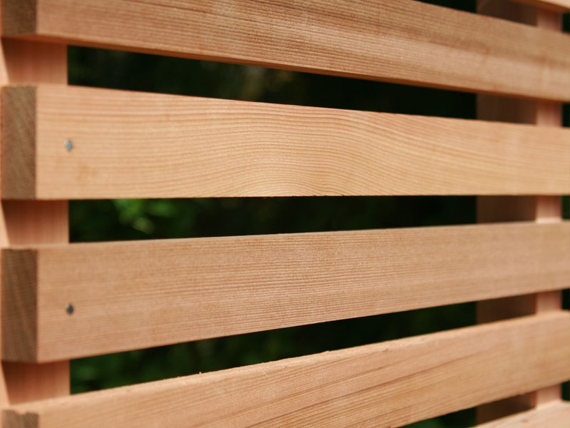 WESTERN RED CEDAR Timber Screens