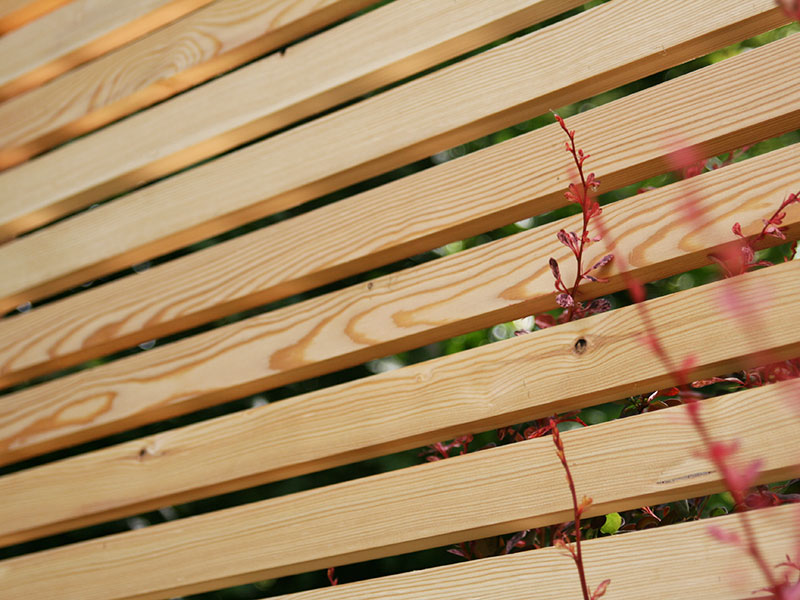 Western Red Cedar screen